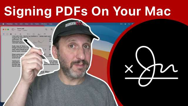 How To Sign PDF Documents In Preview On Your Mac