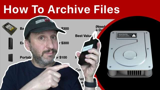 How To Archive Files On a Mac
