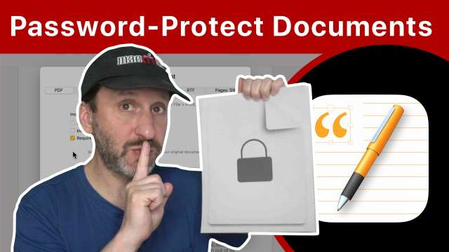 How To Password-Protect Documents On a Mac