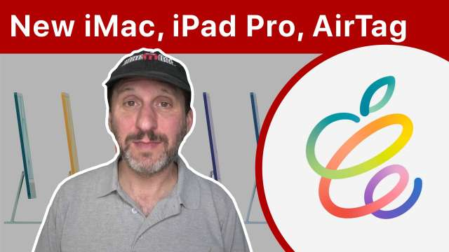 Apple Announces New M1 iMac, iPad Pro and AirTag
