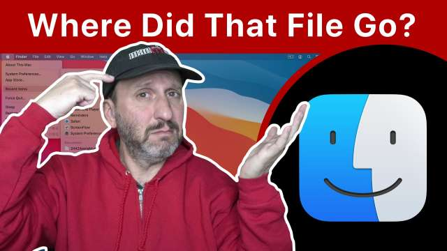 How To Figure Out Where You Just Saved a File On Your Mac