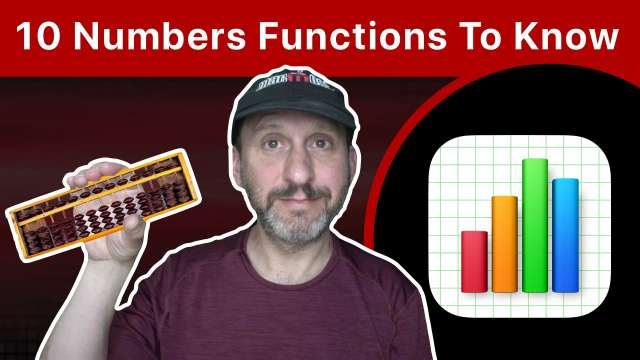 The 10 Functions That Every Mac Numbers User Should Know