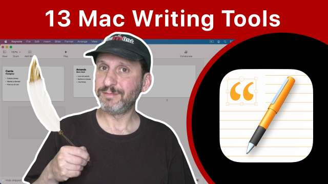 13 Writing Tools That Come With Your Mac