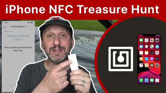 How To Create a Treasure Hunt Game With Your iPhone and NFC Tags