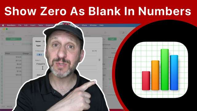 How To Show Zeros As Empty In Mac Numbers