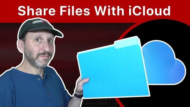 How To Share Files Using iCloud
