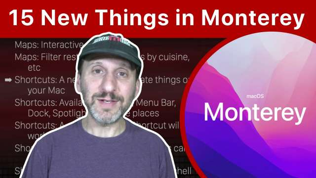 15 New Features Coming To macOS Monterey