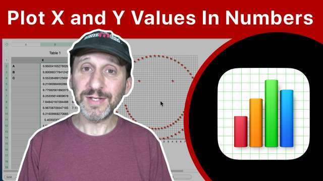 How To Plot X And Y Values In Numbers