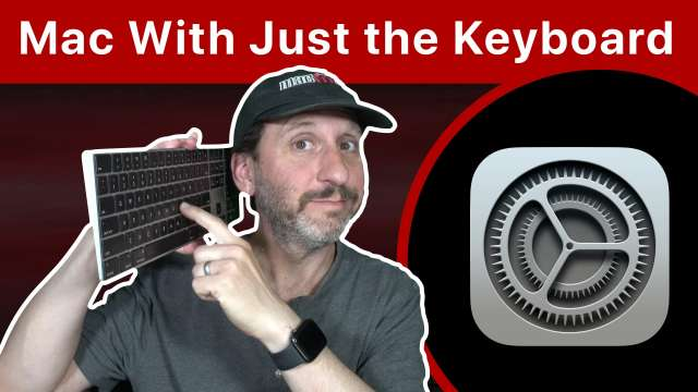 Controlling Your Mac With Only the Keyboard