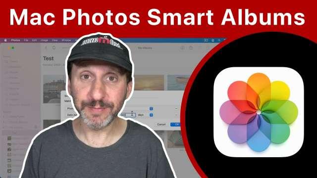 Using Smart Albums In Mac Photos
