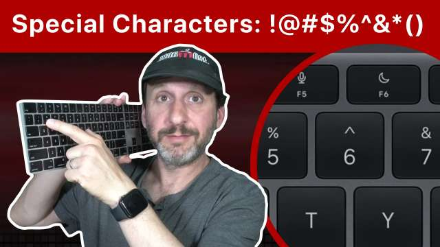 Uses For Special Keyboard Symbols On a Mac