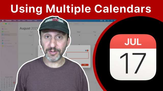 Why You Should Be Using Multiple Calendars on Your Mac