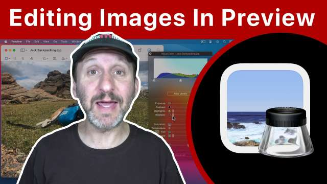 How To Edit Images In Preview On a Mac