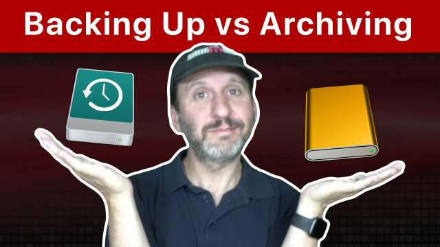 Understanding the Difference Between Backing Up and Archiving