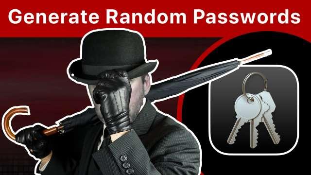3 Ways To Generate Random Passwords On a Mac