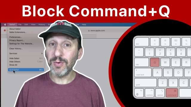 How To Disable Command+Q On a Mac
