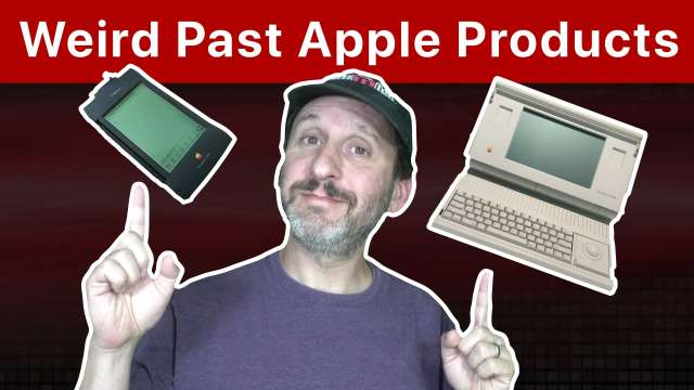 10 Weird Apple Products From the Past