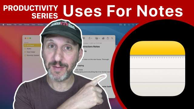 Productivity Series: Uses For Notes