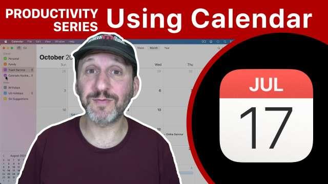 Productivity Series: Uses For Calendar
