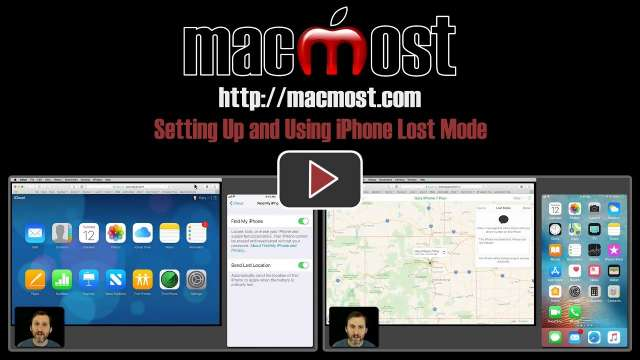Setting Up and Using iPhone Lost Mode