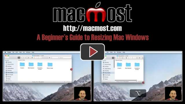 A Beginner's Guide to Resizing Mac Windows