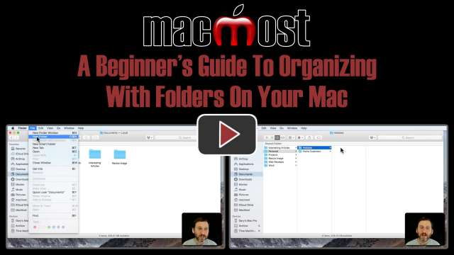 A Beginner's Guide To Organizing With Folders On Your Mac
