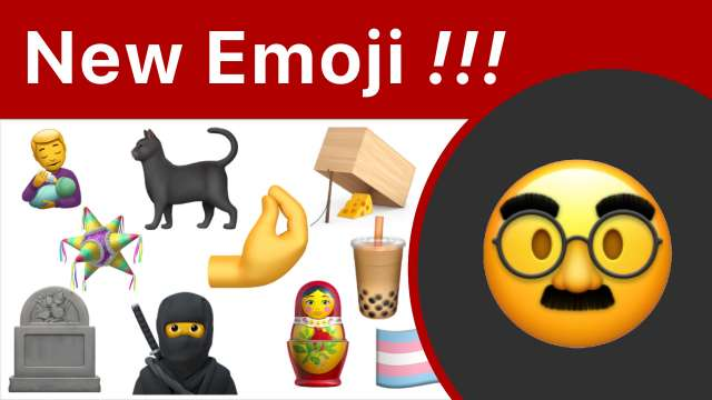 New 2020 Emoji For iPhone And Mac
