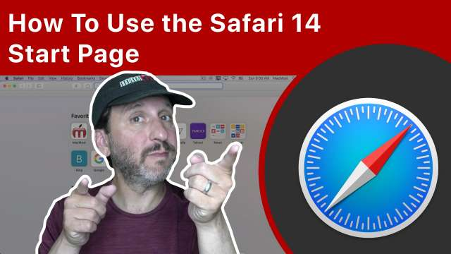 How To Use the Safari 14 Start Page