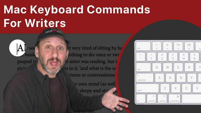 Mac Keyboard Commands For Writers