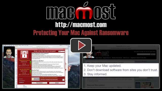 Protecting Your Mac Against Ransomware