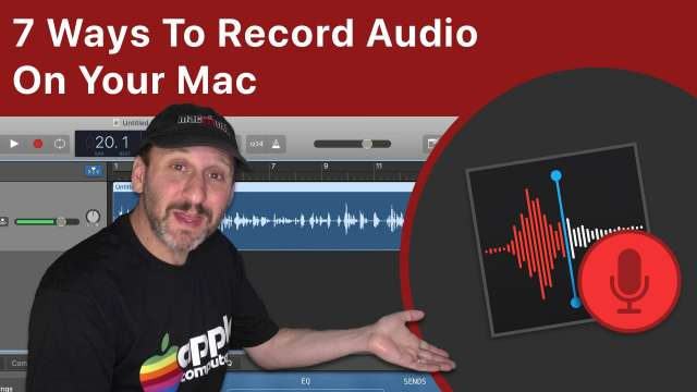 How To Record Audio On Your Mac