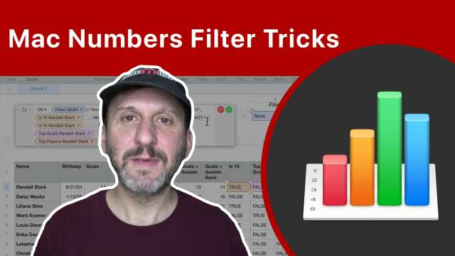 Mac Numbers Filter Tricks To Make Your Spreadsheets Easy To Use