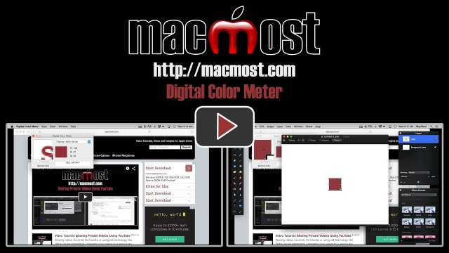 Digital Color Meter
