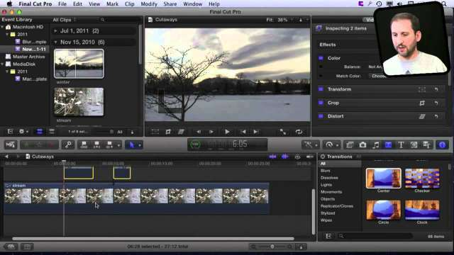 MacMost Now 604: Cutaways in Final Cut Pro X