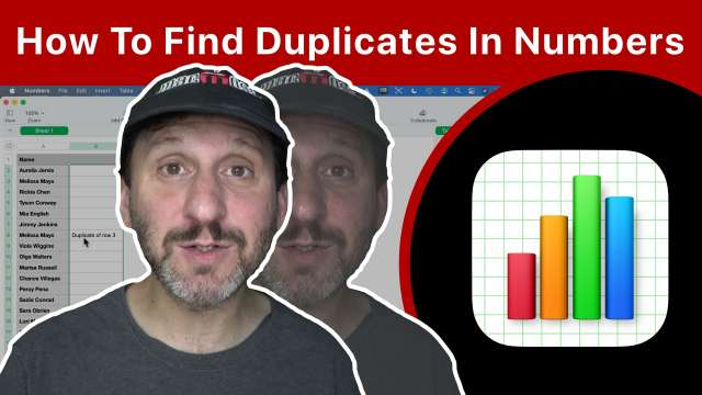 How To Find Duplicates In Numbers