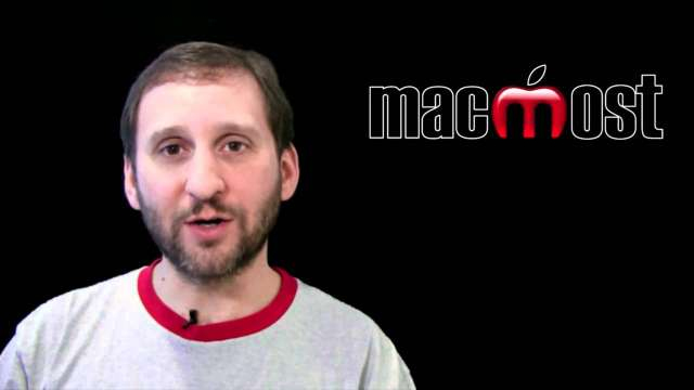MacMost Now 512: Time Machine Versus Cloning