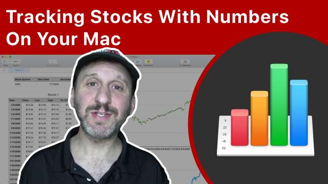 Tracking Stocks With Numbers On Your Mac