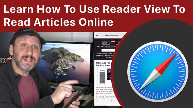 Learn How To Use Reader View To Read Articles Online