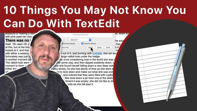 10 Things You May Not Know You Can Do With TextEdit On a Mac
