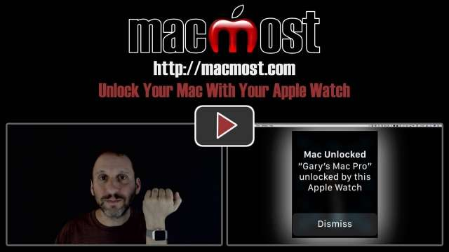 Unlock Your Mac With Your Apple Watch