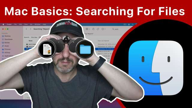 Mac Basics: Searching For Files