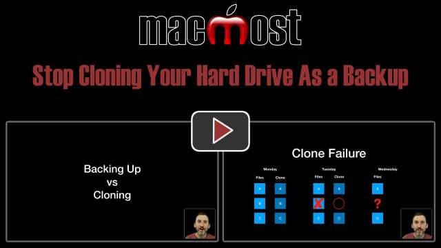 Stop Cloning Your Hard Drive As a Backup