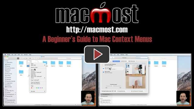 A Beginner's Guide to Mac Context Menus