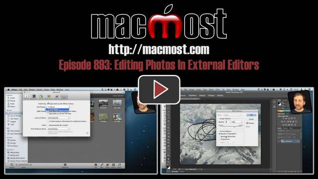 MacMost Now 893: Editing Photos In External Editors