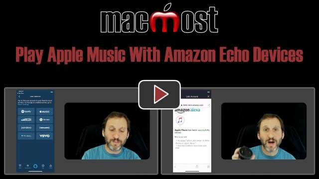 Play Apple Music With Amazon Echo Devices