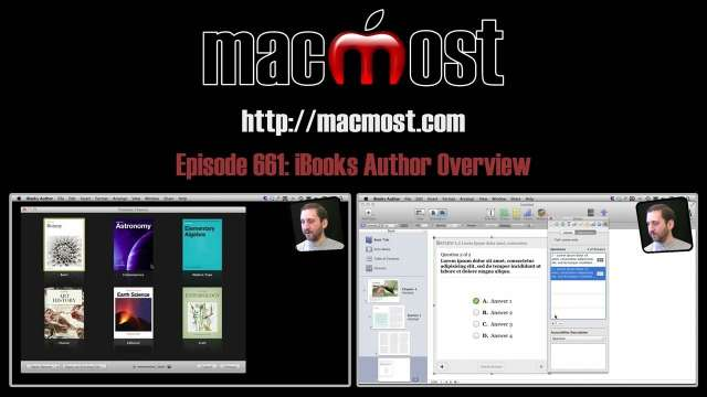 MacMost Now 661: iBooks Author Overview