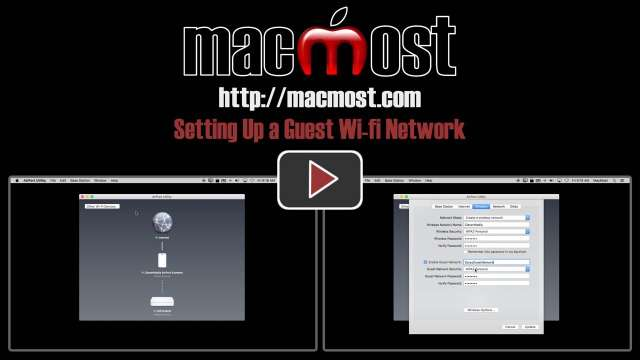 Setting Up a Guest Wi-fi Network