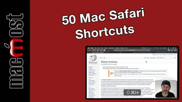 50 Mac Safari Shortcuts