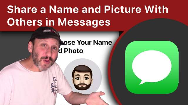 Share a Name and Profile Picture or Animoji With Others in iOS 13 Messages