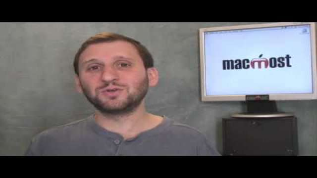 MacMost Now 204: Setting Up a Personal Domain With MobileMe